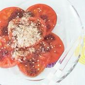 トマトのおかか梅サラダ