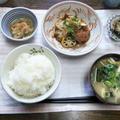 【昨日の早夕ごはん】豚ヒレの甘酢煮。