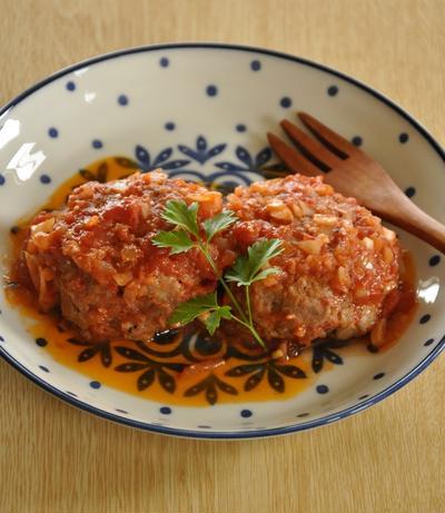 トマト缶を使ってお手軽☆煮込みハンバーグレシピ15選
