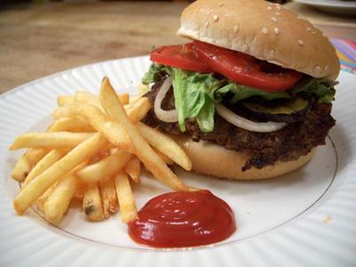 All American Burger クラシック・アメリカン・ハンバーガー