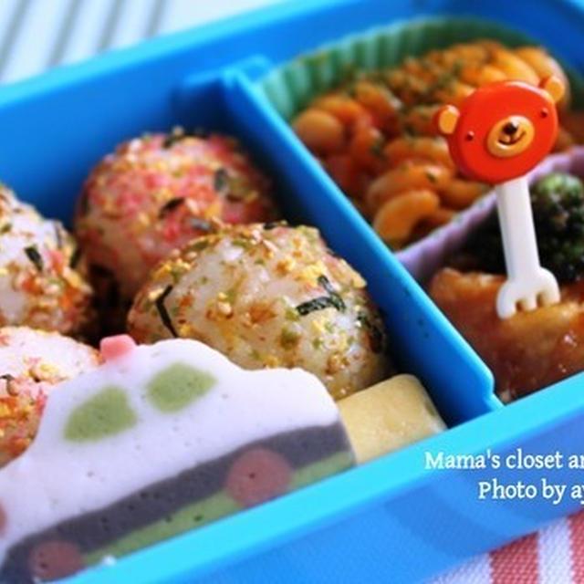 幼稚園のお弁当*鶏肉のカレー炒め