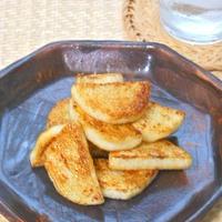 とりあえず〜の簡単おつまみ!長芋の焦がしにんにくバター焼き。