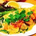 楽する夕食1週間献立、4日目。牡蠣のバインセオ風、簡単アジアン料理。 by 管理栄養士らいすさん