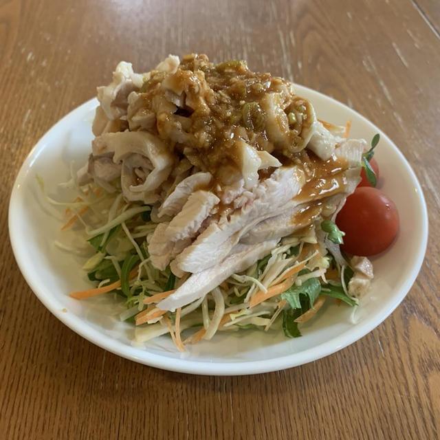 さっぱり棒棒鶏(バンバンジー)サラダ仕立て!!