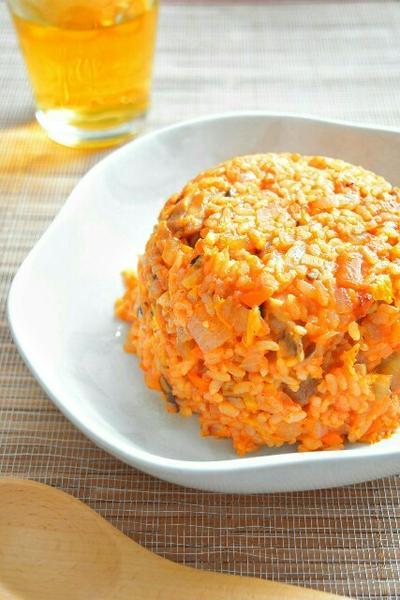 野菜たっぷり!チキンライスのレシピ