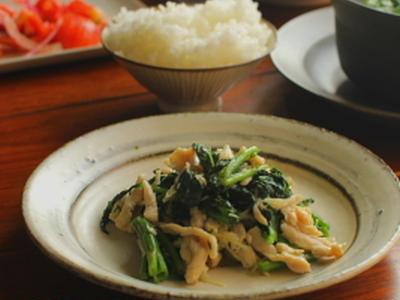 >鶏肉と空芯菜の新生姜炒め by ysykさん
