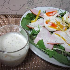 豆乳柚子ドレッシング(ノンオイル)