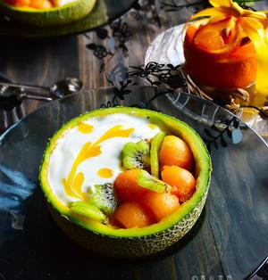 バナナヨーグルト スムージーボウル 季節のフルーツ入  初夏ごはん