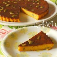 バターナッツかぼちゃのチーズケーキ
