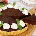 生チョコレート風濃厚タルトの作り方