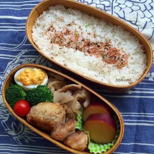 2015/07/17 今日のオッさん弁当 と 幼稚園まつり