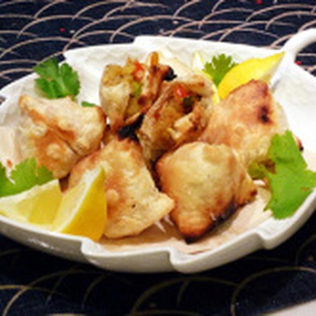 夏野菜とジャガイモのサクサク・サモサ
