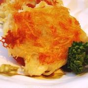 """子どもが食べやすいお魚レシピ""""鱈芋のチーズ焼""""と晩ごはん"""