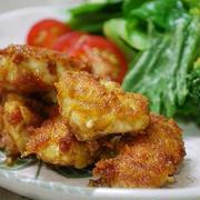 鶏ささ身のカレー風味マヨ唐揚げ
