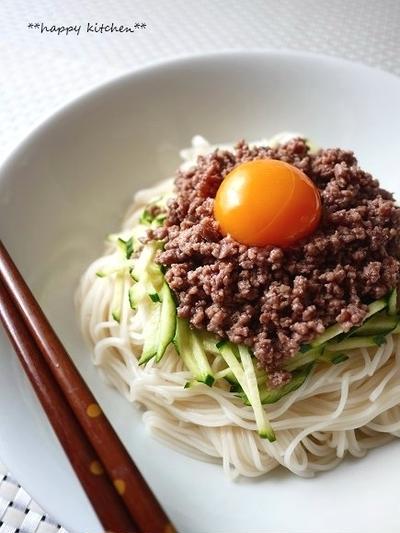 七夕に!冷たい麺レシピ&鶏むね肉の柔らかコロコロマヨカレー焼きレシピ