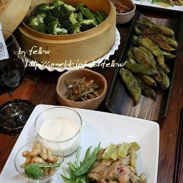 ◆玉葱麹ホイップでブロッコリー♪