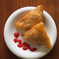 サモサ風豆腐春巻き