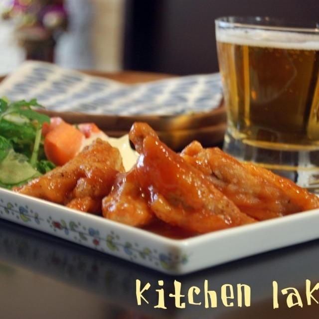 バッファローチキンウイング風(レシピ)