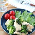 栄養たっぷり!鶏むね肉とブロッコリーのアンチョビ風味 by kaana57さん