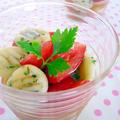 なんちゃってイタリアン!白玉もちもちニョッキのトマトサラダ♪  & MXテレビ「5時に夢中!」でマツコさんがレシピを作ってくださいました♪