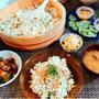 焼き鯖混ぜ寿司の晩ごはん