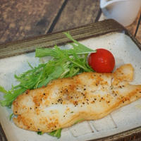 【レシピ】レモンペパーミックスで☆白身魚のムニエル