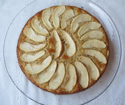 アップル・ココナッツケーキ
