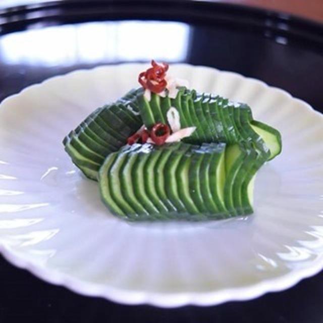 蛇腹きゅうりのレシピ