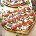 我が家で大絶賛♪生しょうゆBBQソースでパリッとハートピザ