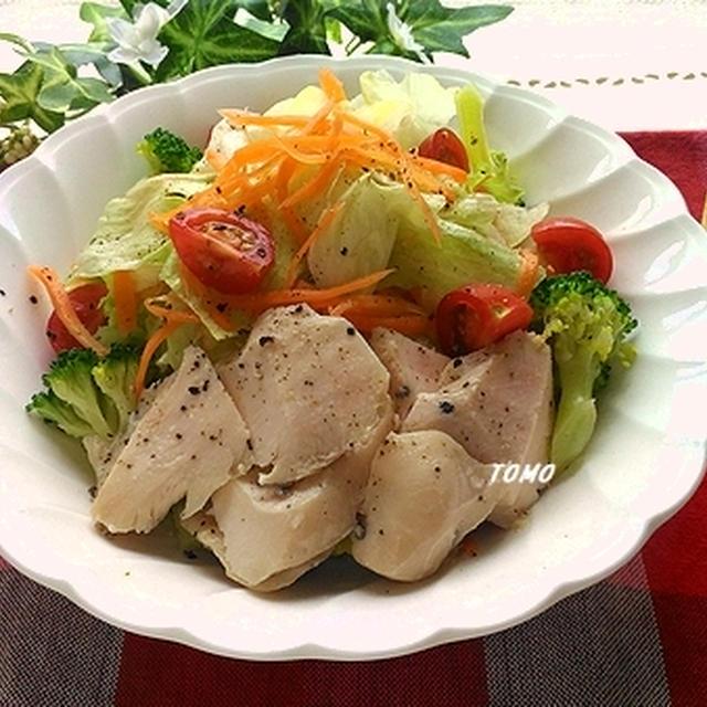器 炊飯 サラダ チキン