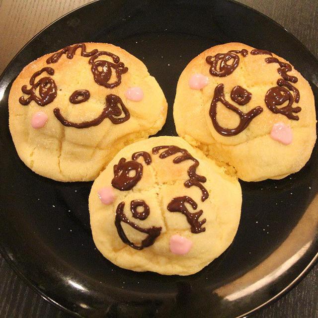 トースターでできる!!メロンパンナちゃんを作ろう!!