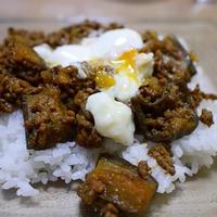 栃木産なすと挽き肉のドライカレー (リピ)