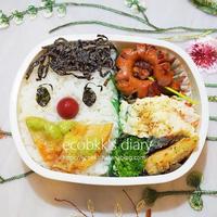お弁当2回分の記録/My Homemade Boxed Lunch, Snoopy Bento/ข้าวกล่องเบนโตะสำหรับสามี