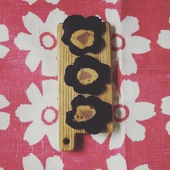 マリメッコみたいなオハナクッキー