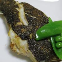 浅羽カレイの塩焼き<フェンネル風味>