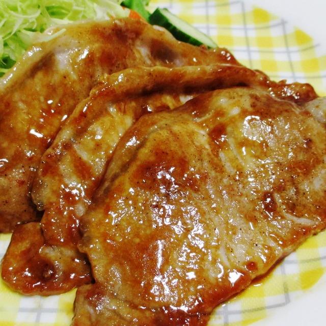 ロース レシピ 豚肉