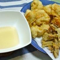 一度に二度美味しい天ぷら