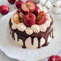 姫りんごとキャラメルのケーキ