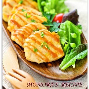 鶏胸肉で簡単・節約やわらかチーズピカタ♡ささみ肉でもOKおかずやお弁当に