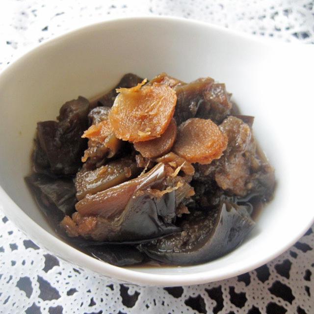 ひんやり♪ナスの生姜煮