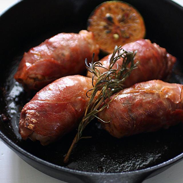 Prosciutto Wrapped Salsiccia