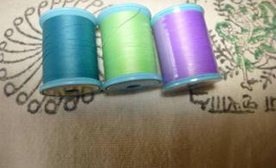 3色の糸から・・・