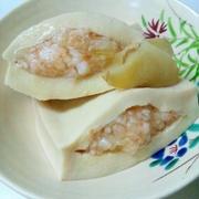 えびミンチ入り高野豆腐の煮物