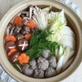 楽天マート‼️でお買い物… 温まる〜♪キノコとさんまのつみれ鍋