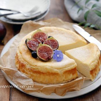 罪悪感ゼロ!カッテージチーズケーキ