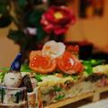 +*お雛祭り おうちでちらし寿司 前日作ったもの!!+*コメなし
