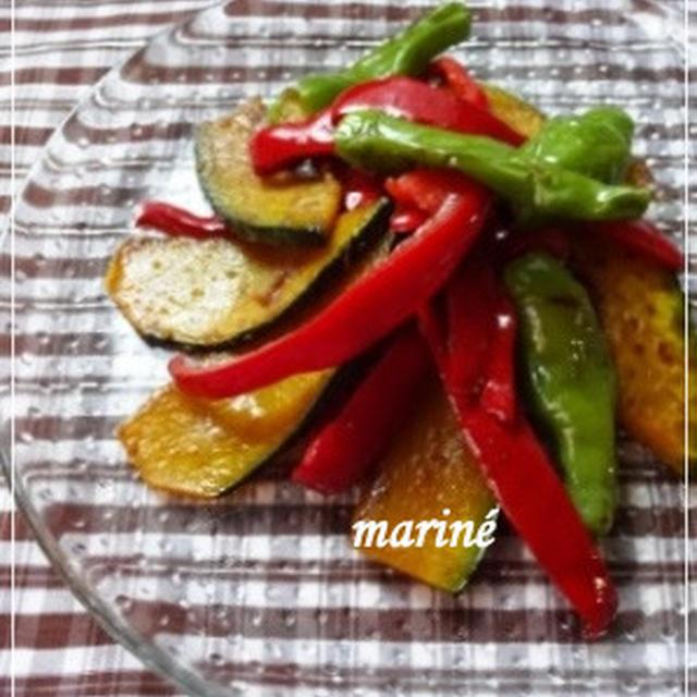 お肌にうれしい☆夏野菜のマリネ
