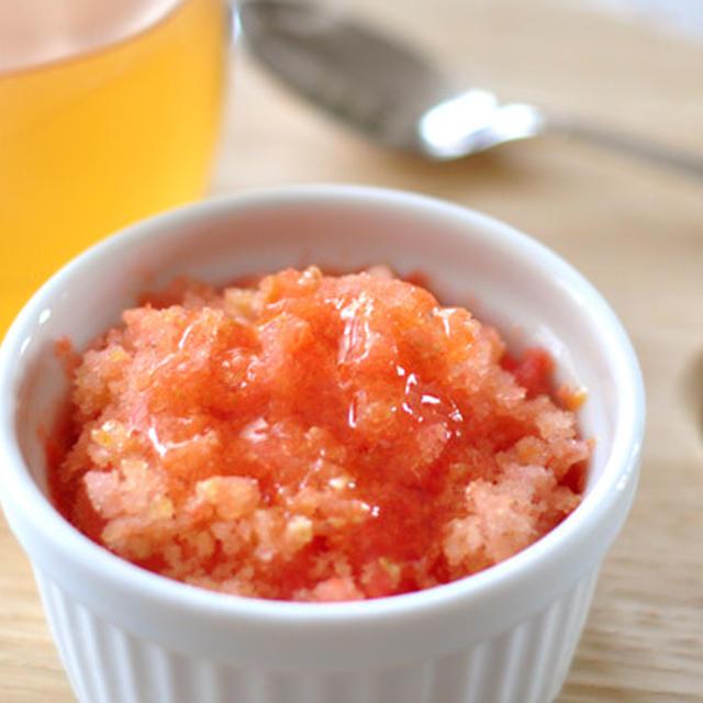 【妊娠中のおやつ】トマトをまるごと冷凍! 「トマトシャーベット」の作り方