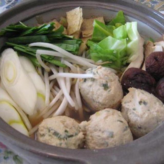 鶏団子ちゃんこ鍋