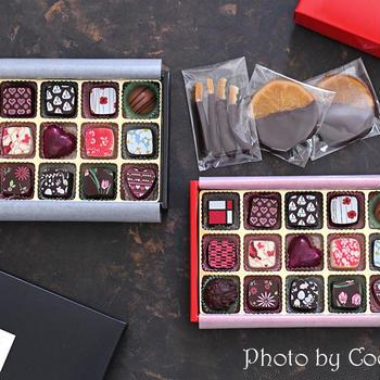 チョコレート一粒一粒の味